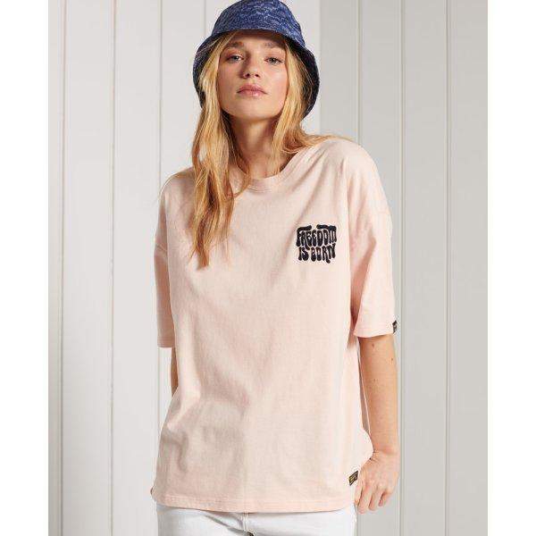 Kastenförmiges Military Narrative T-Shirt