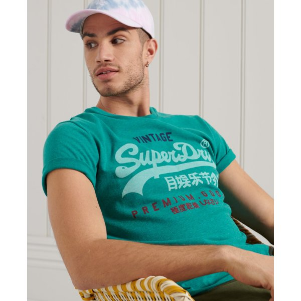 Vintage Logo Tri T-Shirt