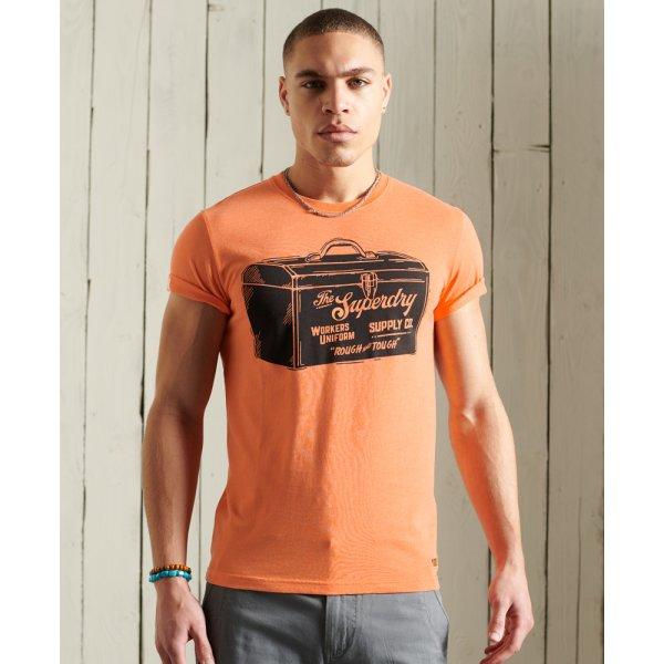 Leichtes Workwear T-Shirt mit Grafik