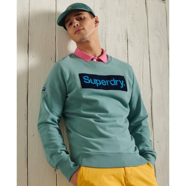 Core Workwear Loopback-Sweatshirt mit Logo
